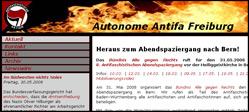 Website der Autonomen Antifa Freiburg